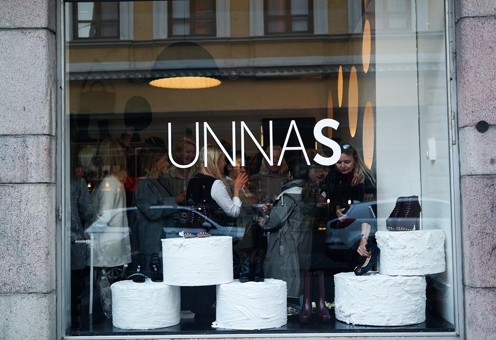 Uusi Unna S -kenkäkauppa avautui