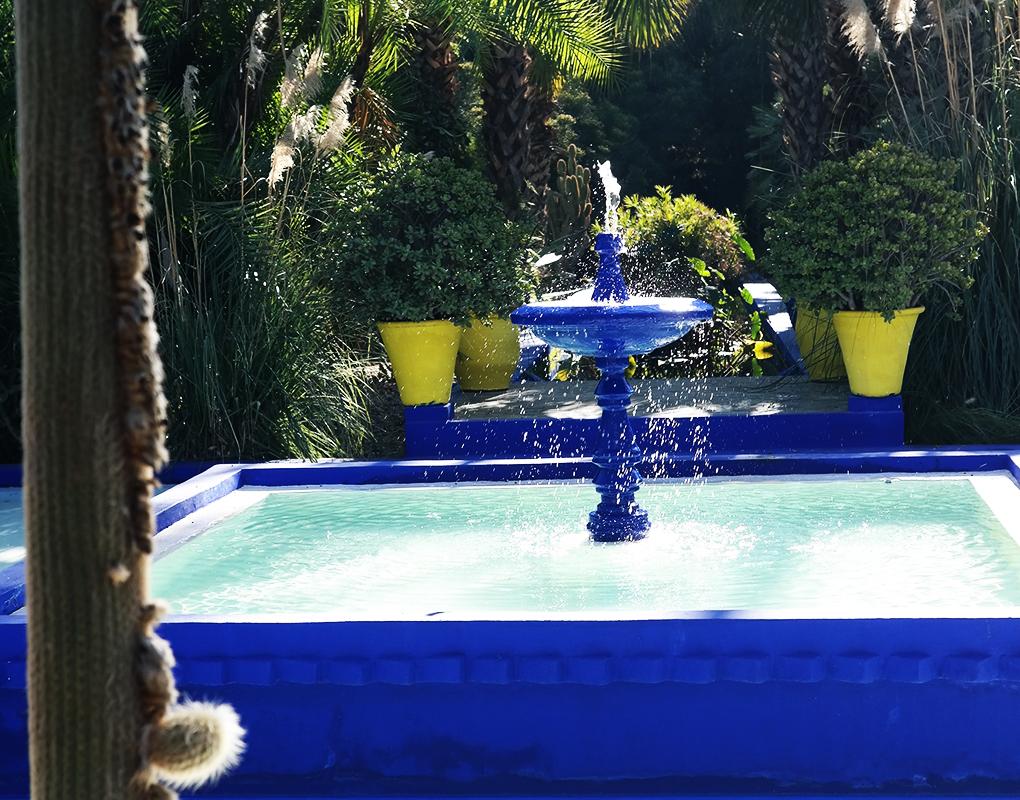 Marrakech: Yves Saint Laurent'n Jardin Majorelle