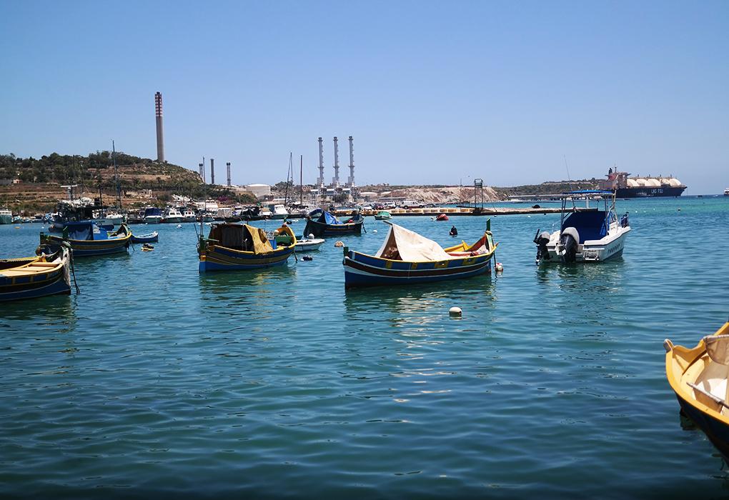 Malta: Marsaxlokk-kalastajakylä